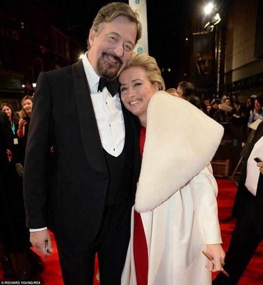 Emma Thompson và Stephen Fry