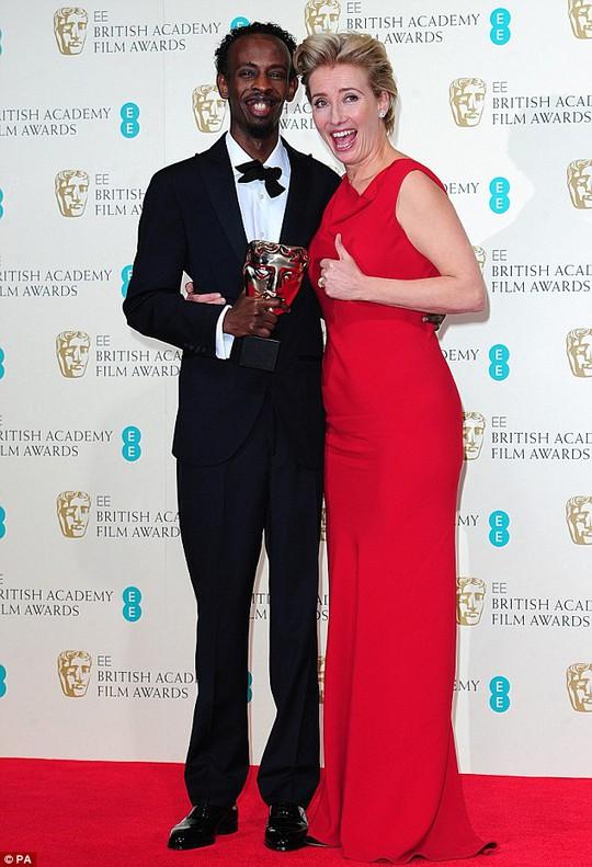 Barkhad Abdi hạnh phúc với chiến thắng hạng mục Nam diễn viên phụ xuất sắc nhất