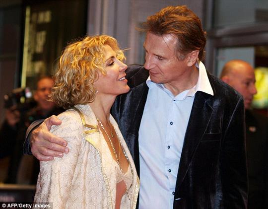 Liam Neeson trải lòng về cái chết bi thảm của vợ