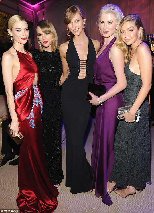 Jamie King, Taylor Swift, Karlie Kloss,  Ireland, Gigi Hadid