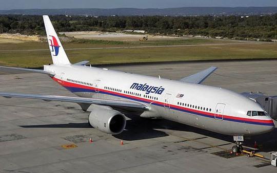 Một chiếc máy bay Boeing 777-200 của hãng hàng không Malaysia Airlines.