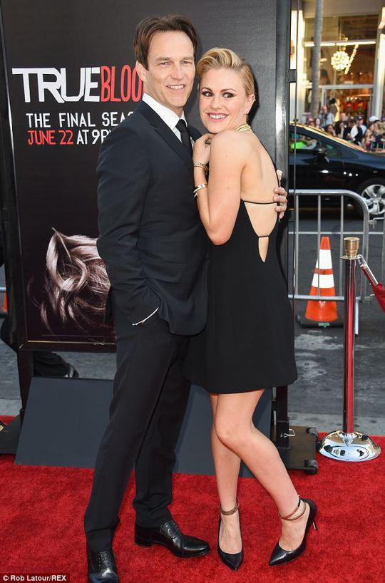 Anna Paquin và chồng