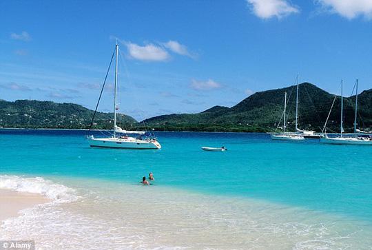 Grenada ở Caribbean. Ảnh: Alamy