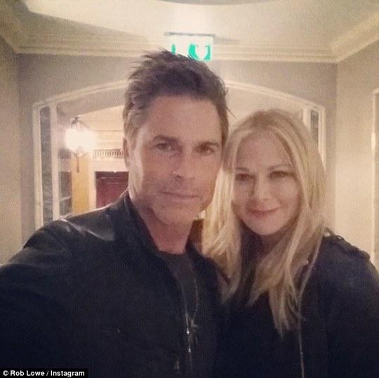 Rob Lowe và vợ
