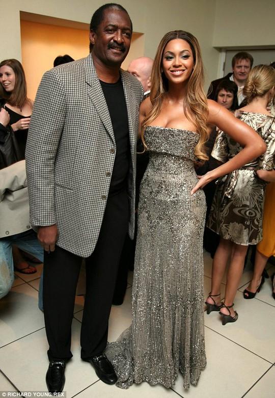 Mathew Knowles và Beyonce