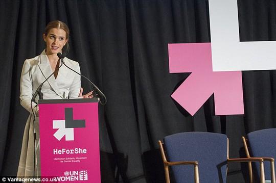 Emma phát biểu tại Liên Hiệp Quốc