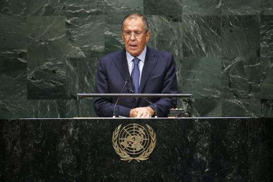 Ngoại trưởng Nga mạnh mẽ chỉ trích Washington và đồng minh. Ảnh: Reuters