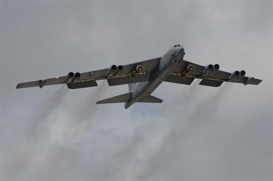 Máy bay B-52. Ảnh: Không quân Mỹ