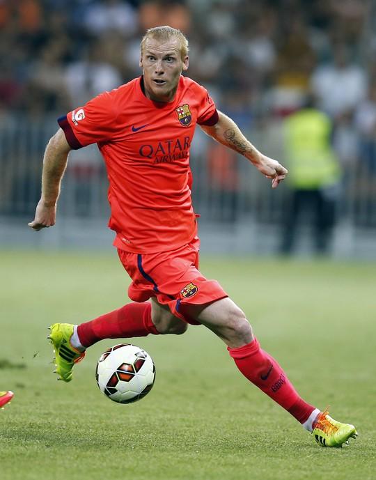 Tân binh Mathieu của Barcelona