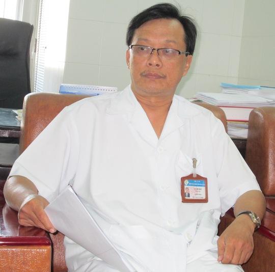 Bác sĩ Cao Văn Nhựt, Trưởng khoa sản BV đa khoa Trung ương Cần Thơ trả lời về thai chết lưu của sản phụ Đoàn Thị Ca Cao