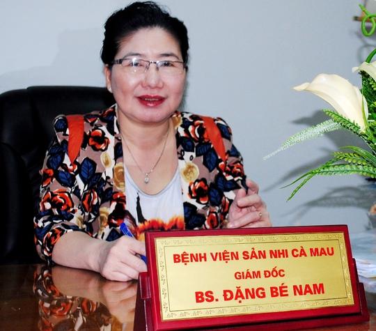 Rút lại quyết định bổ nhiệm bà Đặng Bé Nam