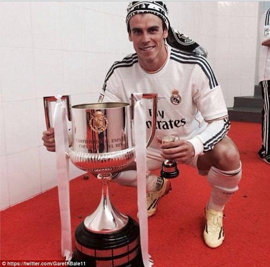 G.Bale xứng đáng được các CĐV tôn vinh