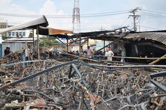 Vụ cháy bãi giữ xe tại đường Cao Lỗ, phường 4, quận 8, hiện cơ quan chức năng đang củng cố hồ sơ để khởi tố vụ án.
