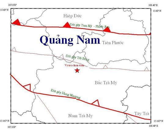 Thủy điện Sông Tranh 2: 2 phút, 2 trận động đất