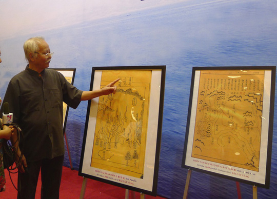 Nhà nghiên cứu Nguyễn Tá Nhí, nguyên cán bộ Viện Nghiên cứu Hán Nôm, nói về chữ Bãi Cát Vàng chỉ Hoàng Sa trong các tư liệu Hán Nôm cổ của Việt Nam