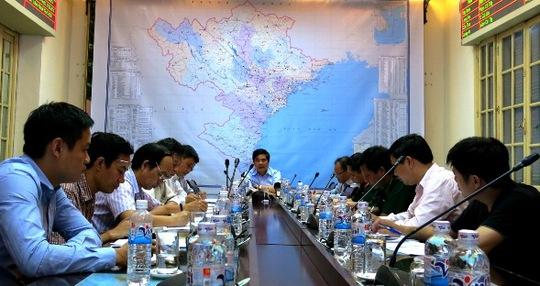 Bộ trưởng Cao Đức Phát chủ trì cuộc họp triển khai các giải pháp ứng phó bão số 3