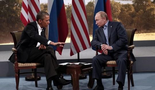Tổng thống Barack Obama và người đồng cấp Nga Vladimir Putin. Ảnh: inquisitr
