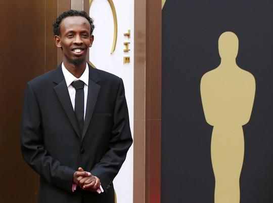 Barkhad Abdi, đề cử Nam diễn viên phụ xuất sắc nhất phim Captain Phillips