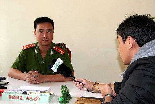 """Đại úy Trần Đình Tú, Đội trưởng Đội Cảnh sát điều tra tội phạm về trật tự xã hội (Công an huyện Đức Trọng), cho biết sẽ làm rõ và xử lý nghiêm các đối tượng dựng chuyện bị """"bắt cóc"""""""