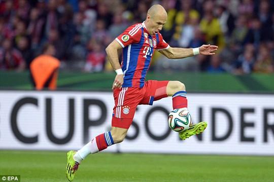Nhiều khả năng Robben sẽ khoác áo M.U trong mùa giải mới
