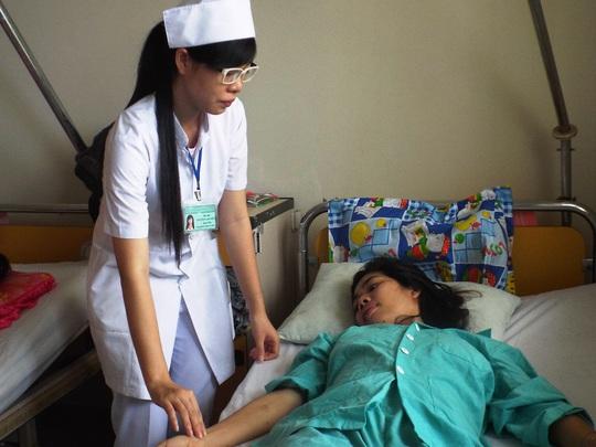 Bệnh Nhân Linh được cho là trường hợp thứ 3 ở Việt Nam ghi nhận có thai nằm trong ổ bụng