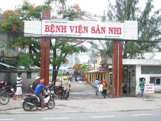 Bệnh viện Sản-Nhi Cà Mau