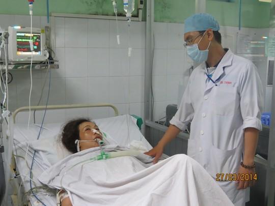 Bệnh nhân đã qua nguy kịch sau khi được vá tim