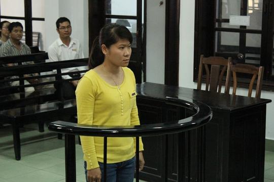 Lê Thị Minh Trang trước vành móng ngựa
