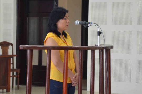 Bị cáo Lê Thị Ngọc Mai tại phiên tòa phúc thẩm ngày 24-9