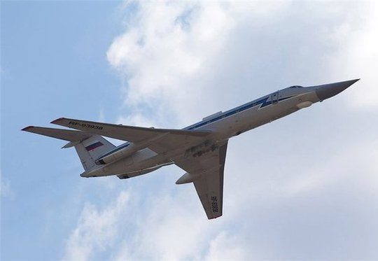 Máy bay quân sự Nga Tu-134 Tupolev. Ảnh: sdelanounas.ru