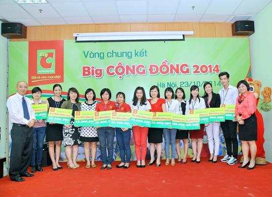 12 dự án hướng đến cộng đồng sẽ được nhân viên Big C triển khai trong thời gian tới