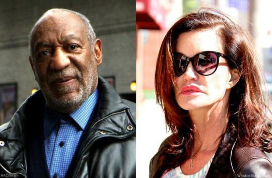 Bill Cosby (trái) chưa lên tiếng trước cáo buộc của Janice