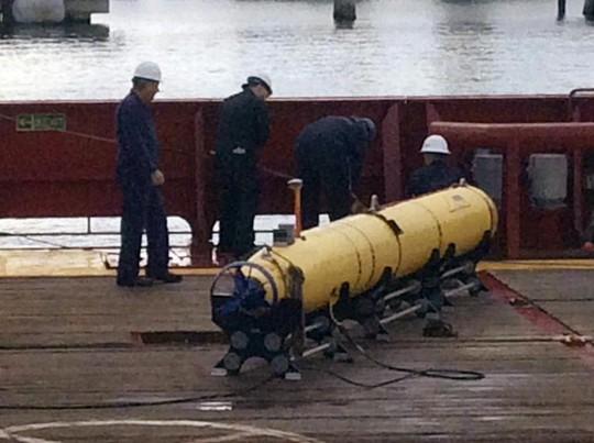 Hoạt động tìm kiếm MH370 bằng Bluefin-21 đã kết thúc. Ảnh: Reuters
