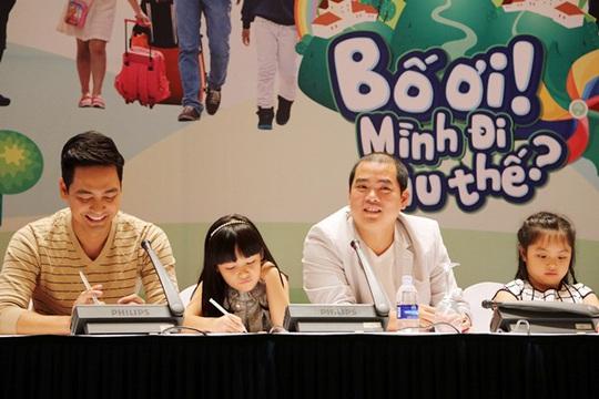 MC Phan Anh- con gái Bảo Anh và nhạc sĩ Minh Khang - con gái Gia An