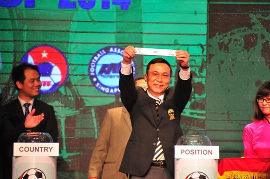 Lá thăm may mắn đưa đồng chủ nhà Việt Nam vào bảng đấu nhẹ nhàng nhưng nhiều người vẫn lo lắng