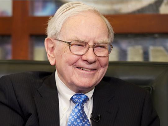 Tỉ phú Warren Buffet. Ảnh: HUFFINGTON POST
