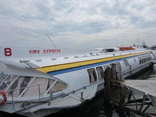 Tàu cánh ngầm sau khi nâng cấp, sửa chữa đã được các cơ quan chức năng chứng nhận đảm bảo an toàn