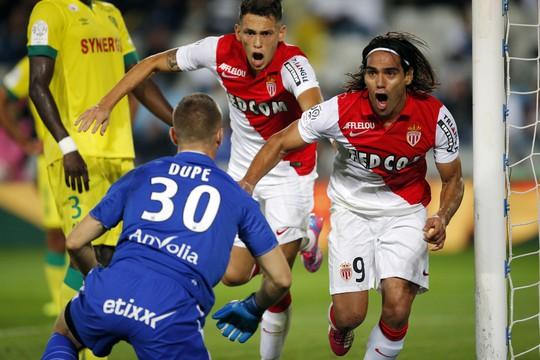Falcao ghi bàn trong màu áo Monaco hồi tuần trước