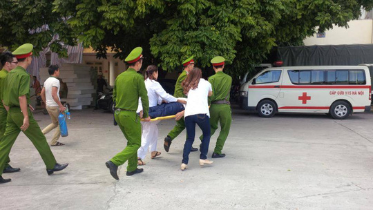 Khẩn trương đưa bị cáo Trần Ngọc Thanh đi cấp cứu