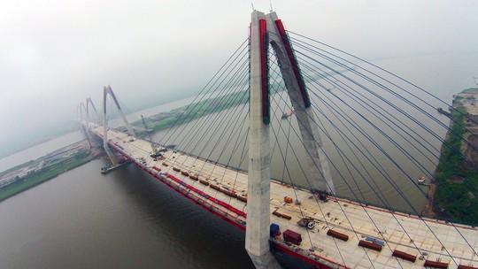 Cầu Nhật sẽ còn một tên gọi khác là cầu hữu nghị Việt- Nhật. Ảnh: Zing.