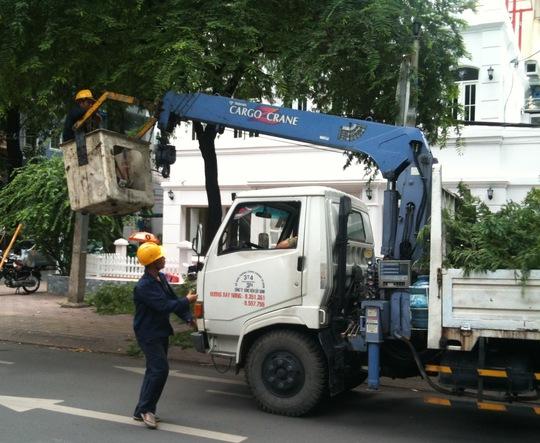 Tăng cường công tác bảo hộ lao động là ưu tiên hàng đầu của nhiệm kỳ 2013-2018 ẢNH: KHÁNH AN