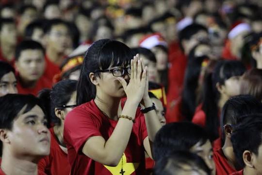 Trong mơ cũng khóc vì tuyển Việt Nam