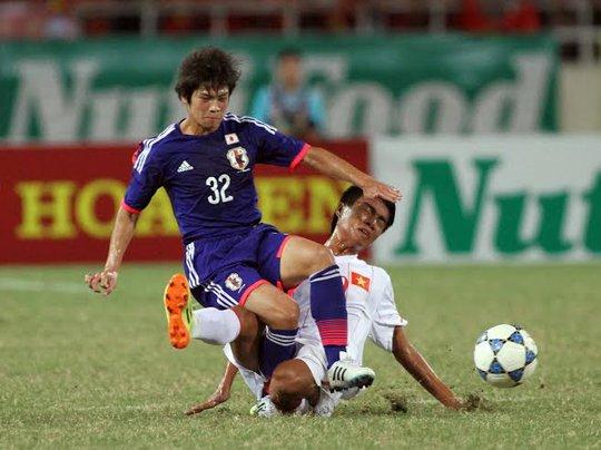 Dù đã cố gắng nhưng U19 Việt Nam lại thất bại trước U19 Nhật Bản đẳng cấp