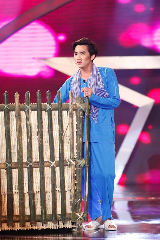 Huỳnh Nhu biểu diễn trong đêm bán kết 2