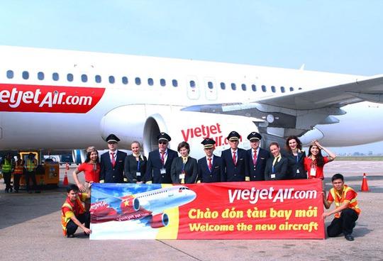 Tàu bay thứ 20 của Vietjet Air trong ngày 31-12-2014