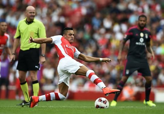 Tiền đạo Sanchez về Arsenal với giá kỷ lục