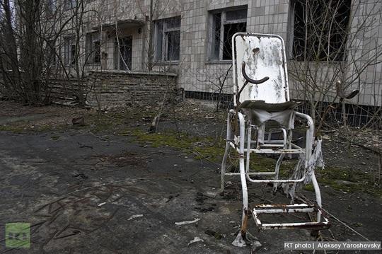 Những hình ảnh ám ảnh về thảm họa hạt nhân Chernobyl