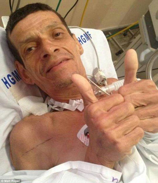 Ông Valdelucio Goncalves dần phục hồi