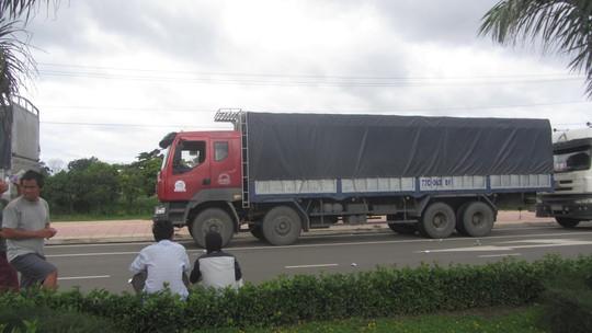Chiếc xe đã được trả lại biển số khi tài xế quay lại trình diện