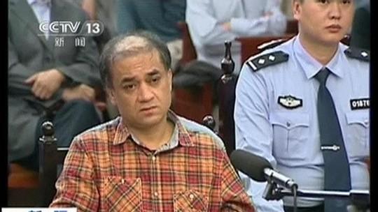 Học giả Ilham Tohti bị xét xử gần đây. Ảnh: Reuters